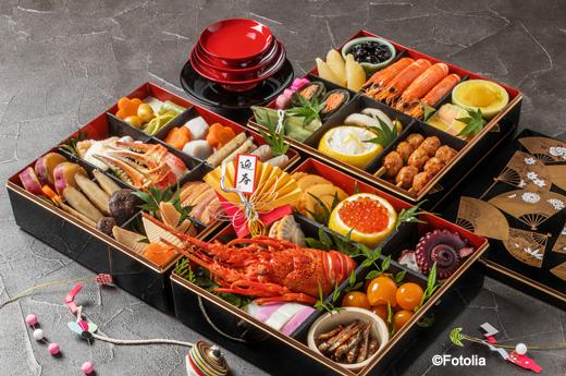 Traditional Japanese osechi