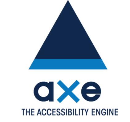 aXeのロゴ