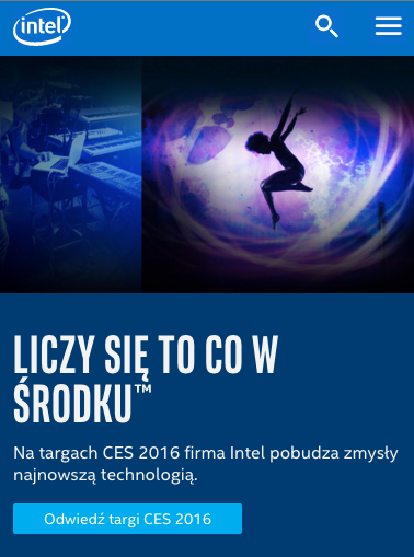 ポーランドのモバイルサイト