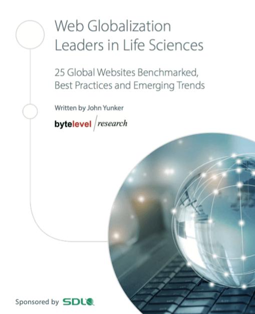 「ライフサイエンス分野におけるWebグローバル化のリーダー」レポート