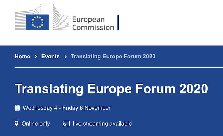 Translating Europe 2020
