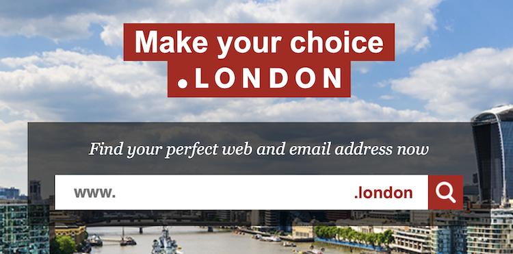 .Londonのサイト