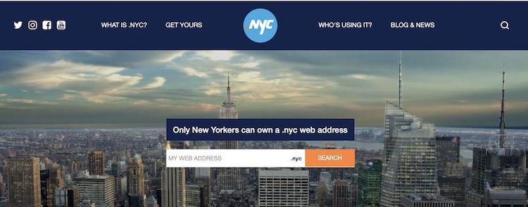 NYCのサイト
