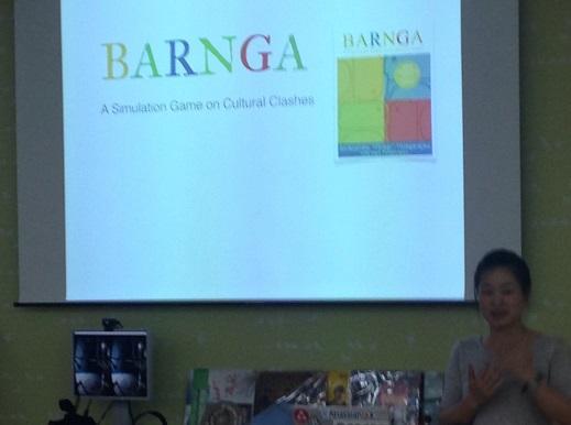 BARNGAのスライド