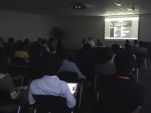 テックラウンジVol.38(8月28日開催)会場の様子