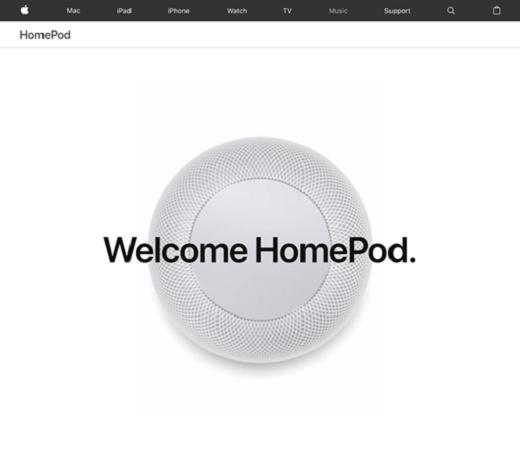 Apple社によるHomePod